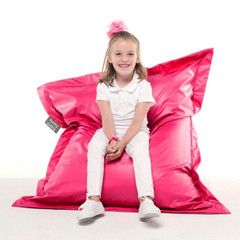 Kushy Cool Skin Beanbag!!!!!  Most loved beanbag with new shape and texture..Easy care, machine washable. It also comes with removable inner bag, so you do not have to worry about inner when it's time to wash!Junior size 40cmX50cm.Ideal for kids from birth to 5 years old.
