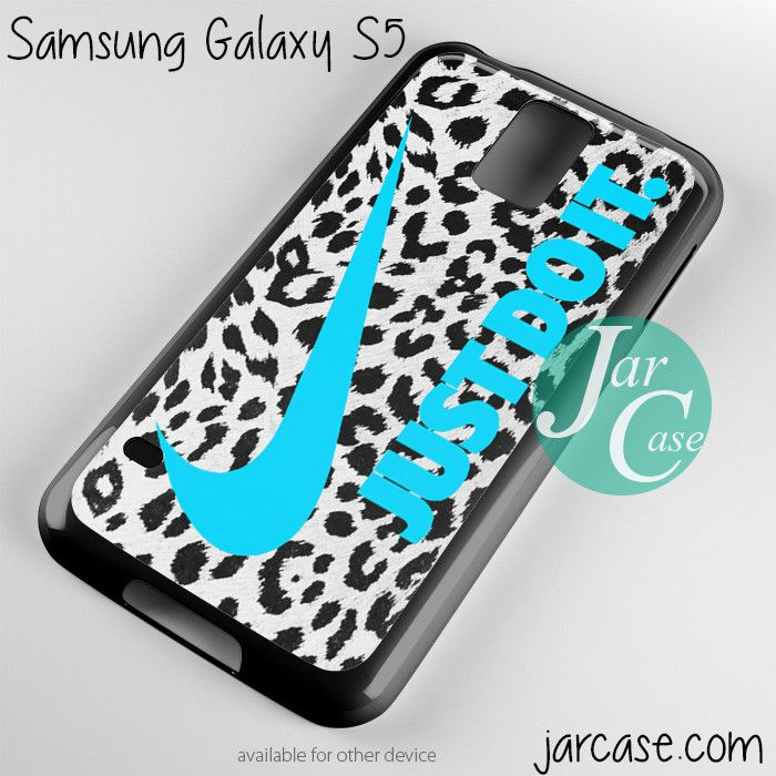 nike leopard just do it Phone case for samsung galaxy S3/S4/S5