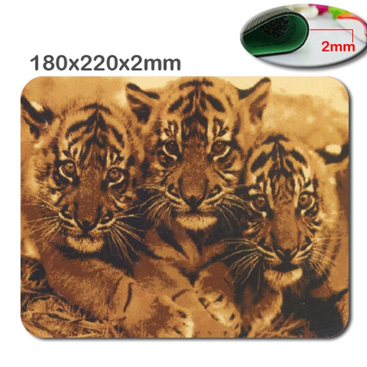 Hit the Arab tiger pattern model custom printing anti-skid carpet durable lasting comfort photoelectric mouse pad creative mode