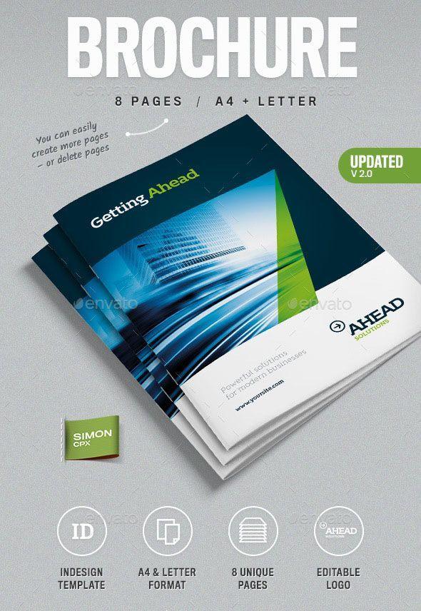 100 Free Premium Multipurpose Business Brochure Designs Graphic