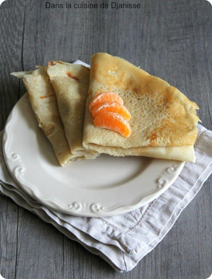 Crêpes sans gluten (vegan)