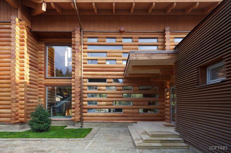 Lofting | Деревянный жилой дом