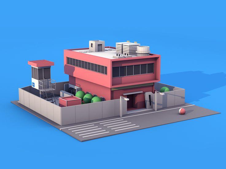 A big villa