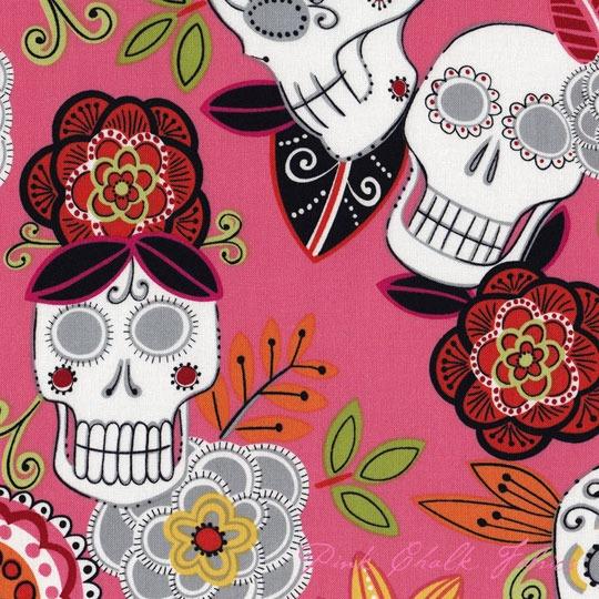 Día De Los Muertos: Fabric For Heirloom. how cool is this!!!!