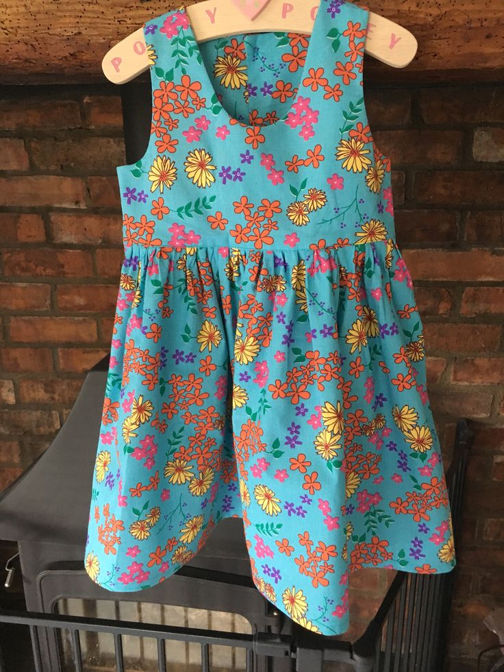 A personal favourite from my Etsy shop https://www.etsy.com/uk/listing/524426211/girls-party-dress