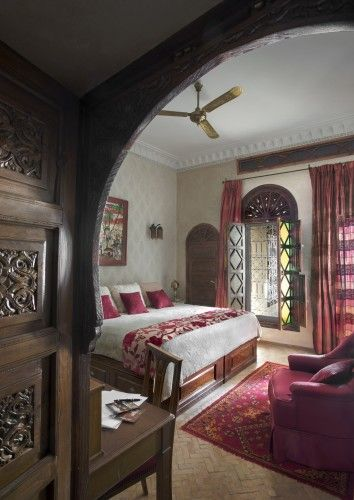 Discover traditional Moroccan style at this spectacular riad http://www.thechictravelclub.com/traditional-moroccan-riad/ Photo credit La Sultana Hotels