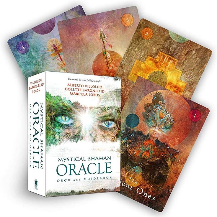 Free read mystical shaman oracle cards by alberto