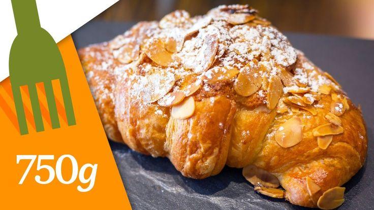 Recettes des Croissants aux amandes - 750 Grammes - YouTube
