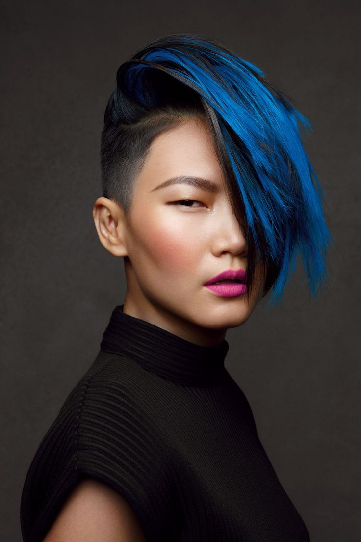 When you get an undercut definitely go the extra mile and get it colored! via: livelikeavip.com
