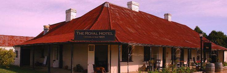 Grazing Restaurant - Royal Hotel, Gundaroo. The best regional fare