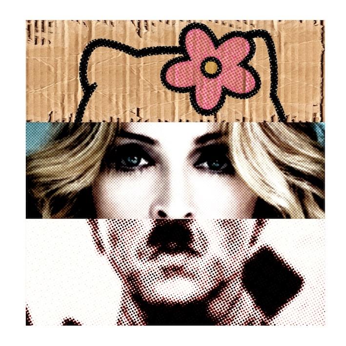 Mad Kittler (Hello Kitty, Madonna, Hitler)  Alberto Fumora 2012