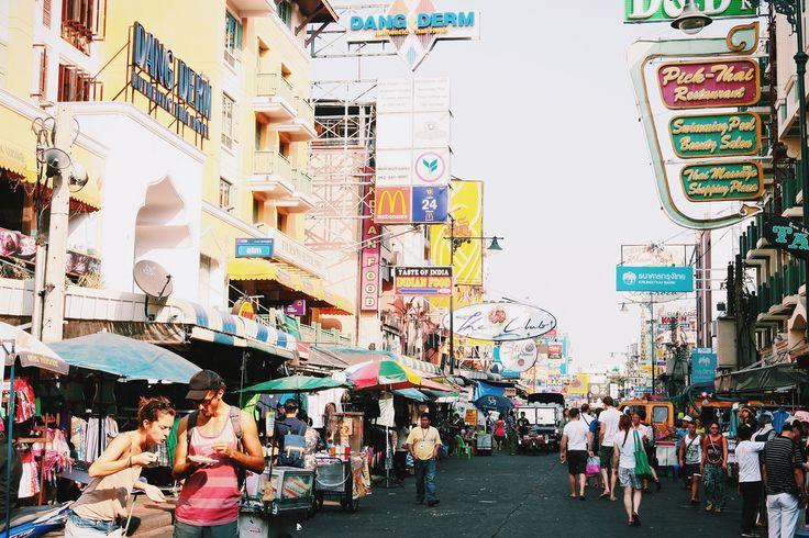 Фото - путешествия по миру: День в Бангкоке: современный мегаполис с националь...