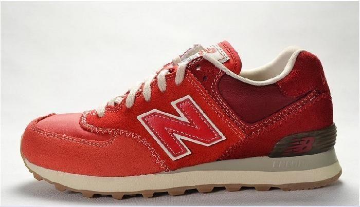 Ny New Balance 574 Gradient Ramp Pack Klassiske Røde Løpesko