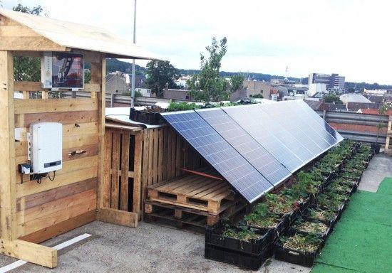 De Energiecentrale: Zonnenenergie op Roof Garden