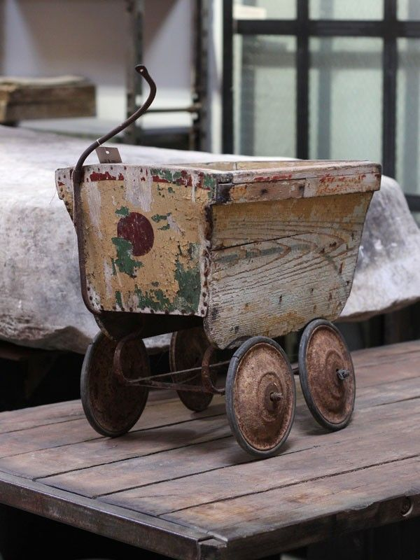 Antique Children's Cart