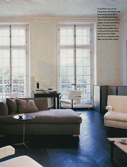 Tom Ford's Paris home