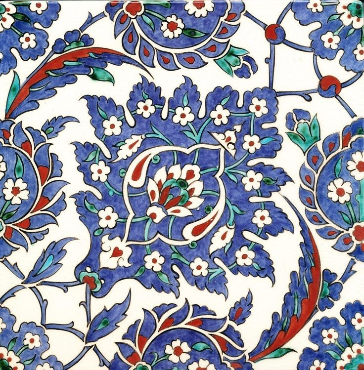 Iznik Ceramic Tiles, Iznik, Turkey