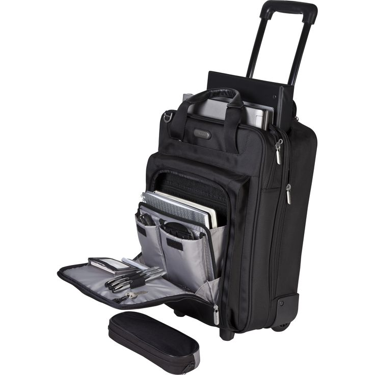 "Show details for 17"" Corporate Traveler Vertical Rolling Laptop Case"