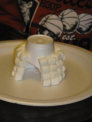 Making Merry Memories: Marshmallow Igloo