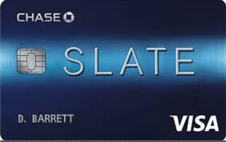 The Chase Slate Credit Card Is Rewarding The Card Has A Low