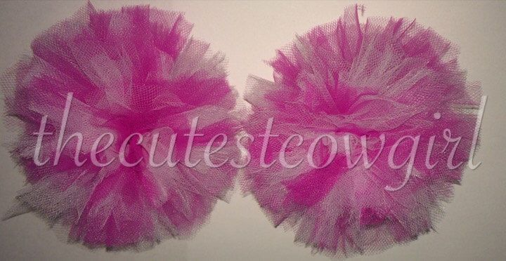 Boutique Custom Girls Tulle Ballerina Tutu Hair Accessories puffs Pom Poms Hair Bow Balls Pink White Valentines Day  0 3 6 12 18 24 2 by TheCutestCowgirl on Etsy https://www.etsy.com/listing/220043909/boutique-custom-girls-tulle-ballerina