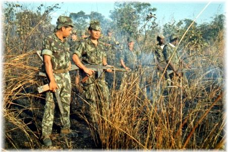 Portuguese troops - colonial war - Africa 1961-1974