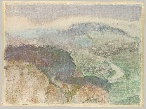 Edgar Degas: Landscape (1972.636) | Heilbrunn Timeline of Art History | The Metropolitan Museum of Art- Monotype