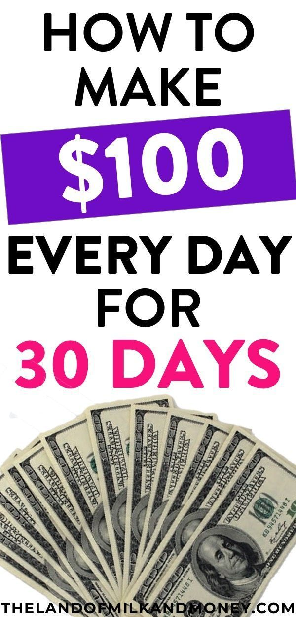How To Make $100 A Day – 30 Easy Ways To Make Money Fast in 2019 – #day #earn #E… – Kochen