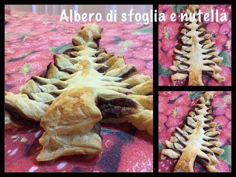 Ricetta Albero di sfoglia nutella by YouDolci - YouTube