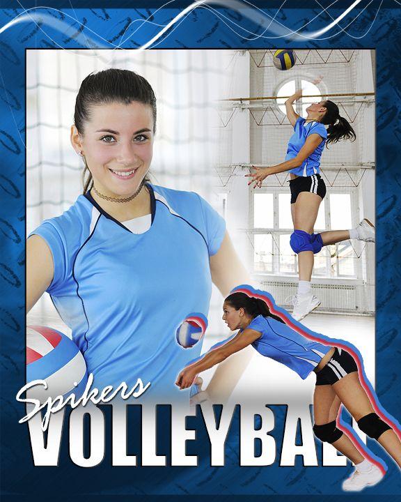 Volleyball Photo Templates - Champion Digital Design