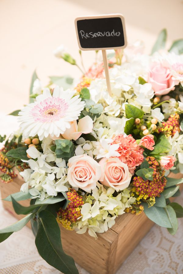 An elegant rustic wedding with touches of vintage detail. | Brideside