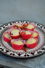 Hallonmuffins med lemoncurd
