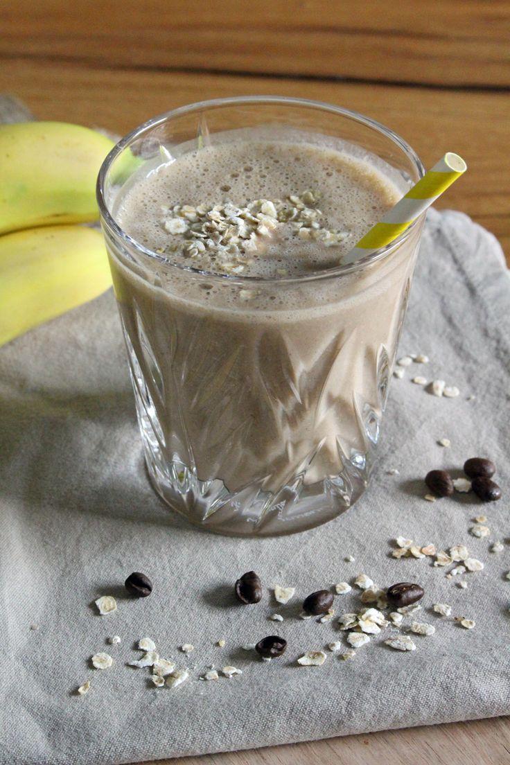 Rezept: Kaffee-Bananen-Smoothie | Projekt: Gesund leben | Clean Eating, Fitness & Entspannung