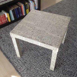 Tavolino Lack personalizzato