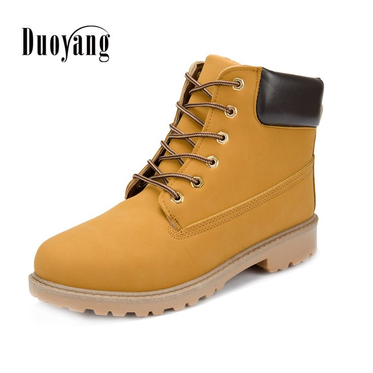 ==> [Free Shipping] Buy Best Men boots fashion Winter ankle snow shoes 2017 new arrival winter warm PU man shoes Online with LOWEST Price | 32443786073