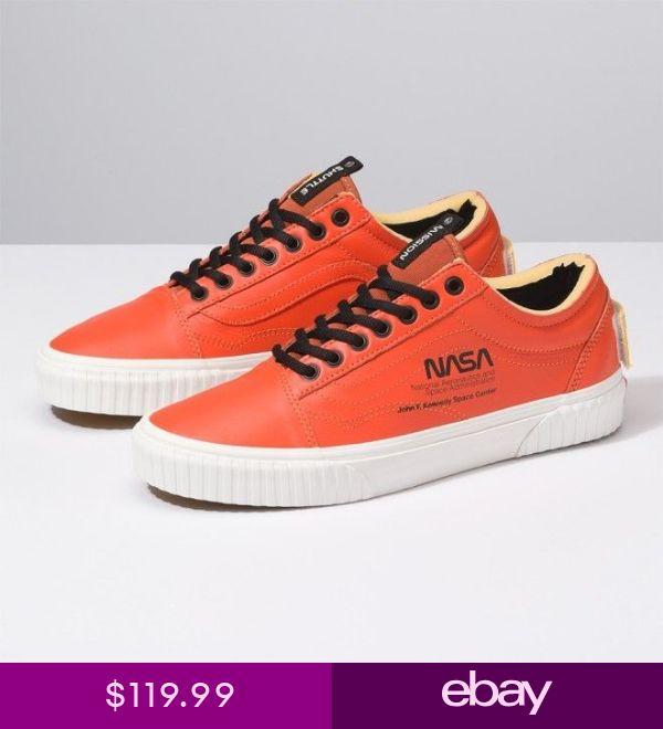 Vans x Nasa Space Voyager Old Skool Orange Shoes Sneakers