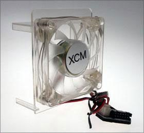 XCM Core Cooler, fan for Xbox 360 (deep blue)