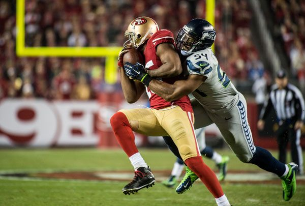 """A lot has been made about the rise of the Seahawks' defense to No. 1 in the NFL, which has coincided with the return of middle linebacker Bobby Wagner. His take? """"If that's what people want to say, I'm definitely going to take it,"""" he said."""