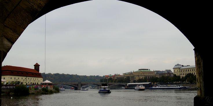 Praha - Prague - Under the Charles Bridge