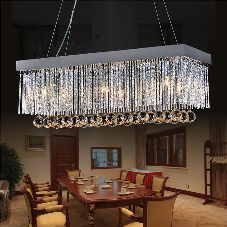 $93 - Factory Outlet European Simple Fashion K9 Restaurant Crystal Chandeliers-in Chandeliers from Lights & Lighting on Aliexpress.com | Alibaba Group