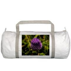 Purple Thistle Gym Bag