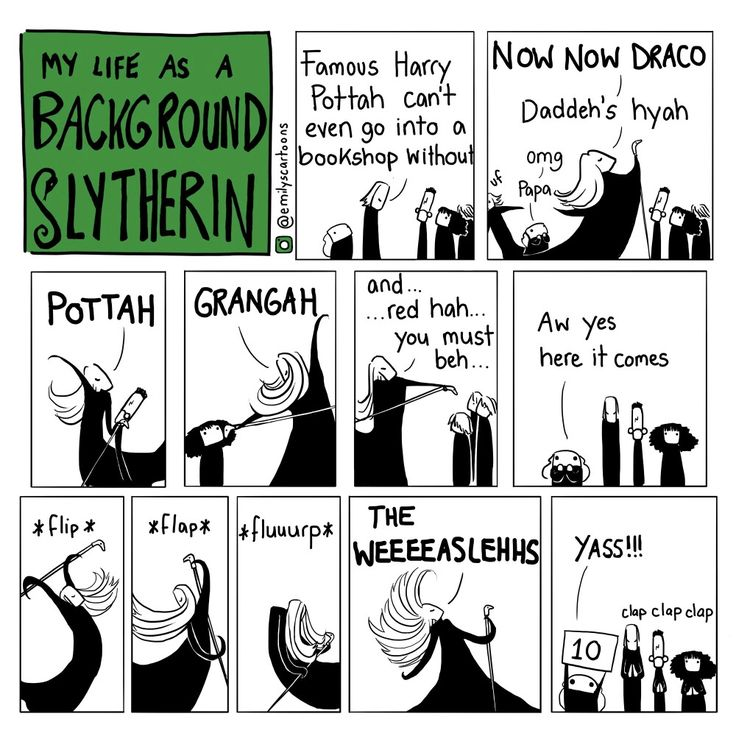 That's funny even if I'm not in slytherin I really relate to being the person cheering everyone-else on.