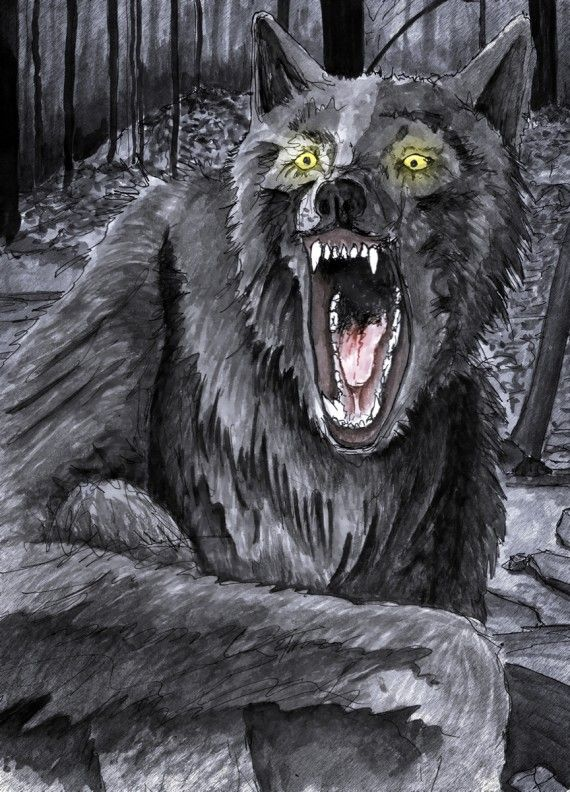 """Dog With A Human Face"" Michigan dogman, Mythical"