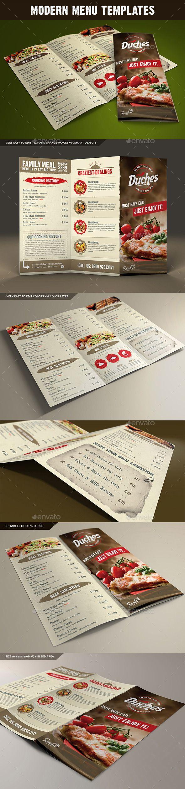 Restaurant Menu 273 best Food Menu Card