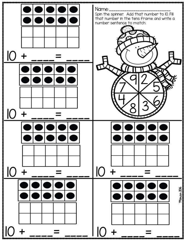 Kindergarten Math And Ela Winter Worksheets Kindergarten Math Common Core Kindergarten Kindergarten Skills
