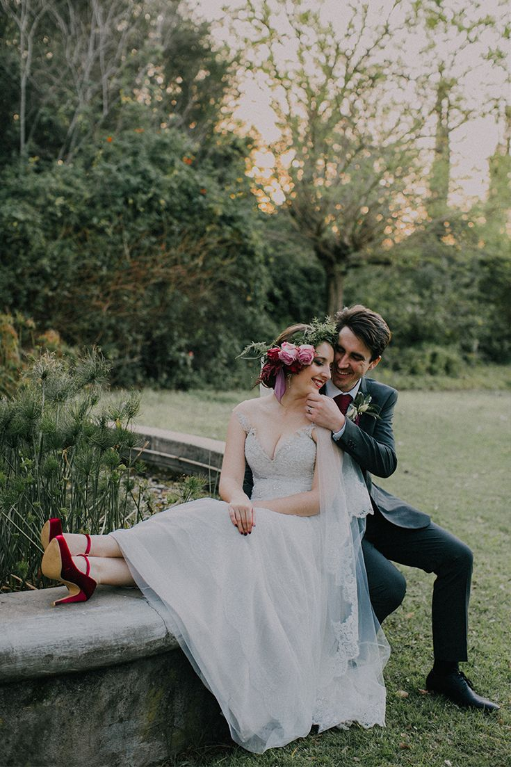 Enchanted couple photo ideas for your unique fantasy inspired wedding day.