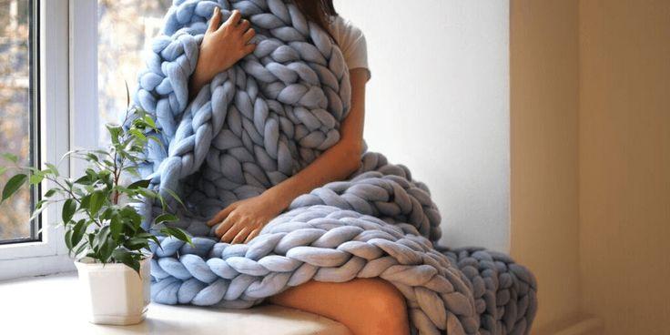 Een gigantisch deken in maar een paar uur tijd Het maakt niet uit in welk seizoen van het jaar we zitten. Er is niets fijner da...