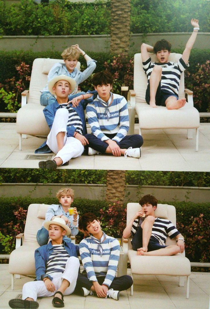 Suga, V, Jungkook and Jin ❤ #BTS #방탄소년단 Summer Package in DUBAI Day-3.