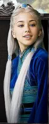 Seychelle Gabriel as Princess Yue<<In the movie that shouldn't have existed and was wrong in every way and was perfectly horrible.