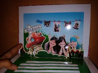 snappopup: pop up card: HBD aini